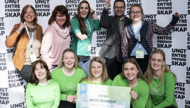 27 ungdomsbedrifter kjempet om Spleiselagets regnskapspris